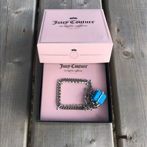 NWOT Juicy Couture Present Gift Box Charm Bracelet
